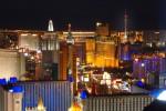 Las Vegas Strip view from Mandalay Bay 2/2005