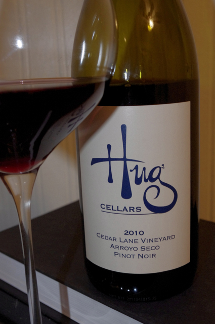 2010 Hug Cellars Cedar Lane Vineyard Pinot Noir