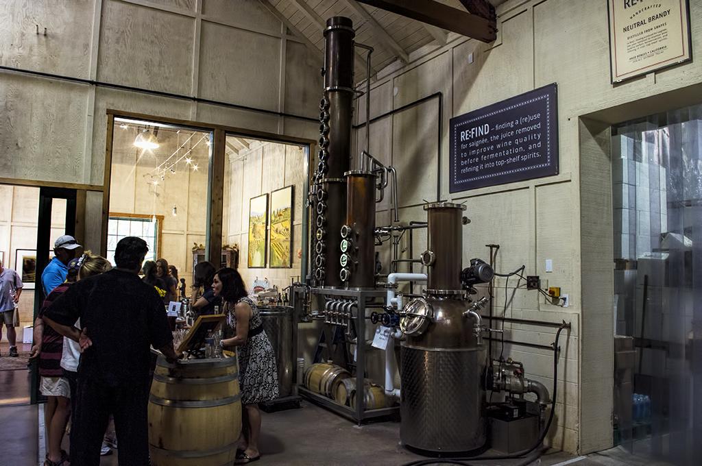 The distillery room