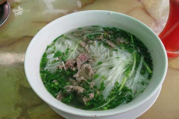 Vietnamese pho (Image: caitriana used under a Creative Commons Attribution-ShareAlike license)