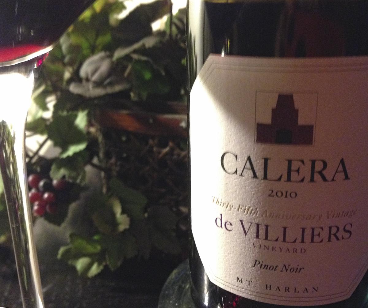 2010 Calera Pinot Noir de Villiers Vineyard
