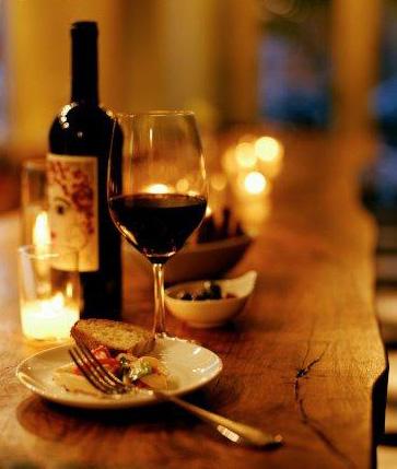 Irene's wine and food pairing event