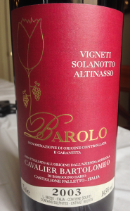 Barolo Label