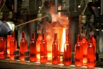 Making wine bottles in Oregon