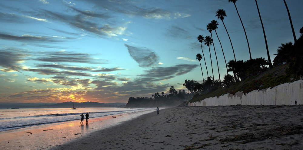 Butterfly Beach in Santa Barbara