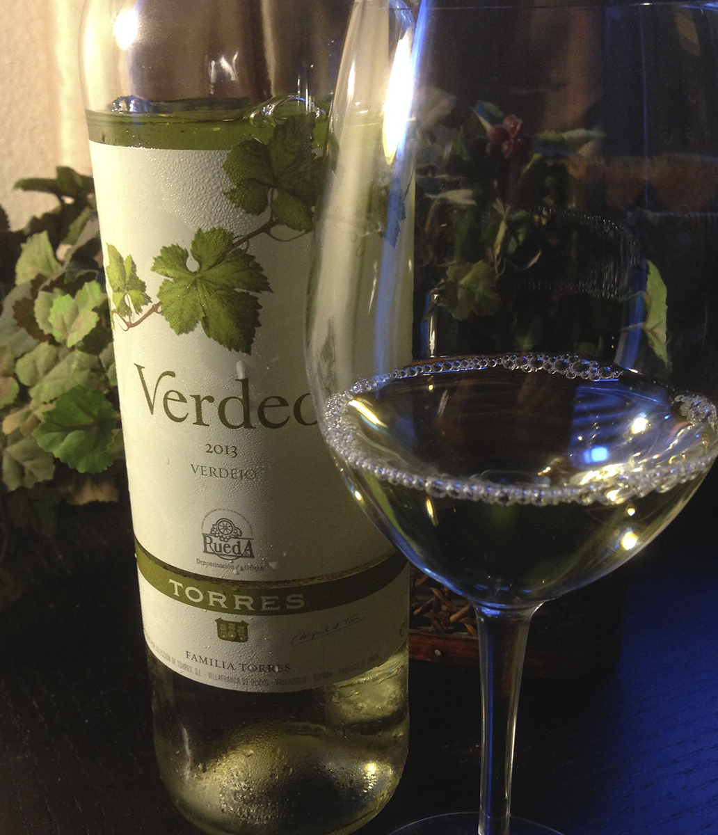 Today's Tasting Note: 2013 Verdeo from Torres
