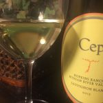 Today's Tasting Notes: 2013 Cep Hopkins Ranch RRV Sauv Blanc (Peay)
