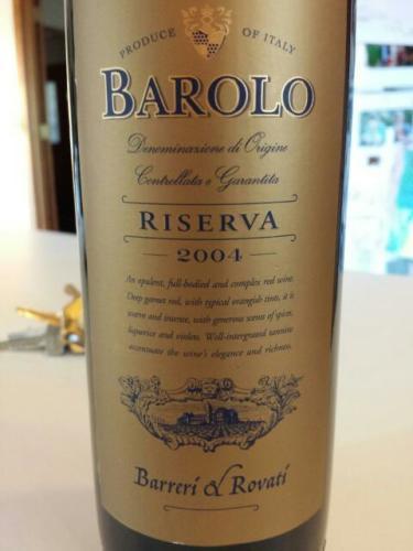 2004 Barolo