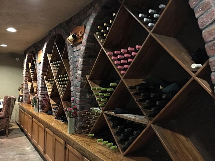 Santa Maria Inn Wine Cellar