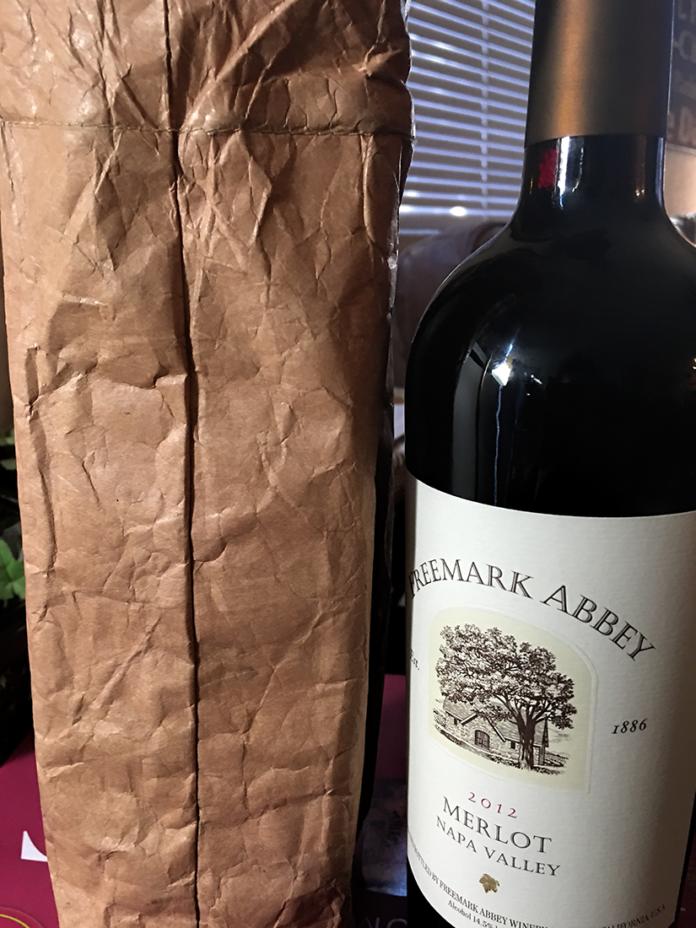 Freemark Abbey and Tasting Bag